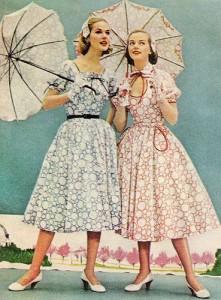 1955 dresses