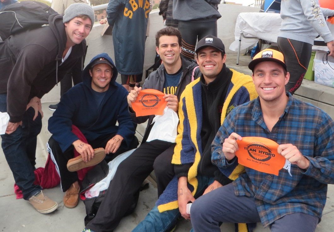 Once again, former members of the Cal Men's Water Polo Team rallied for for the cause!