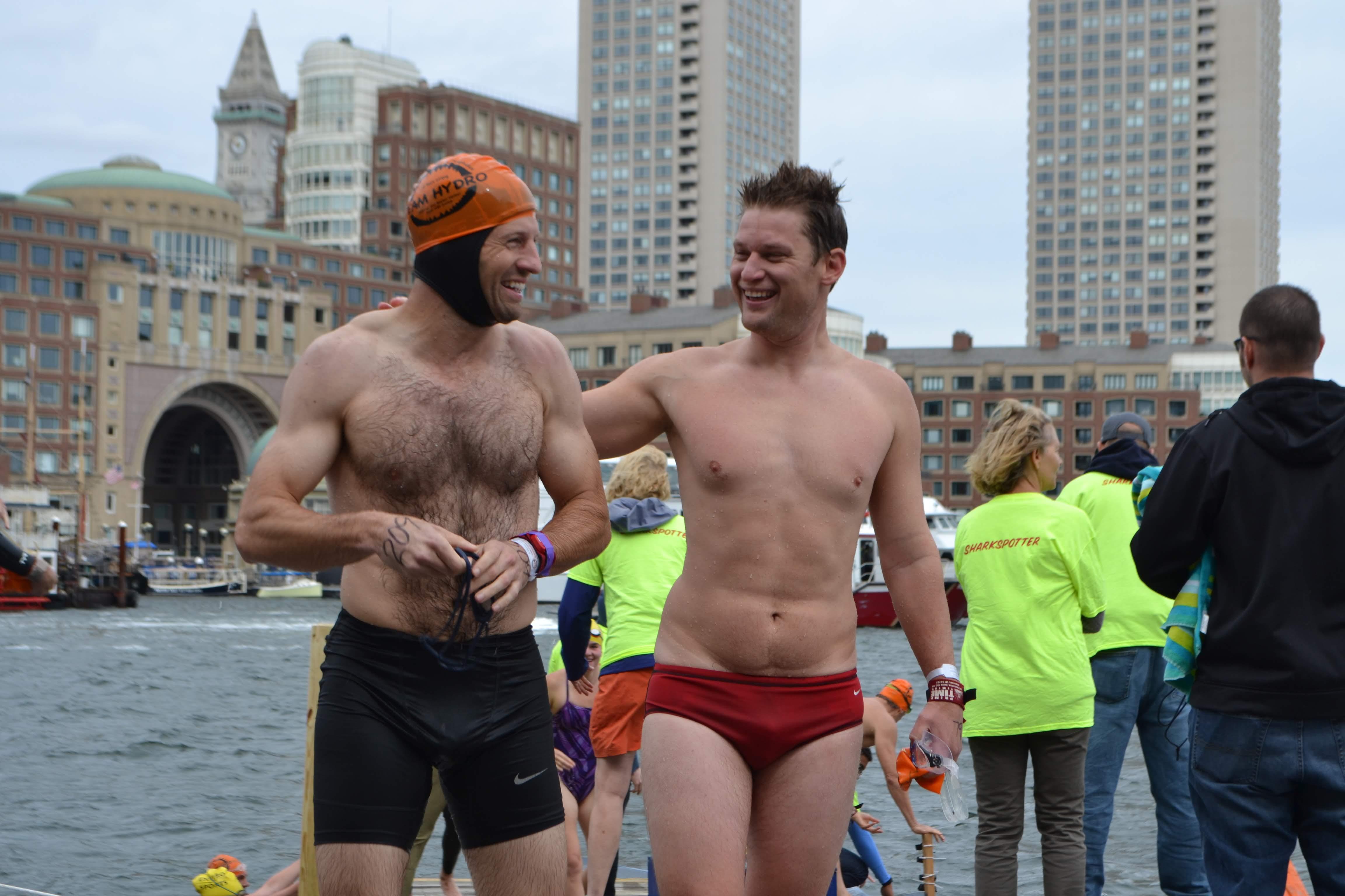 Team Hydro | Boston Harbor Swim at Success!